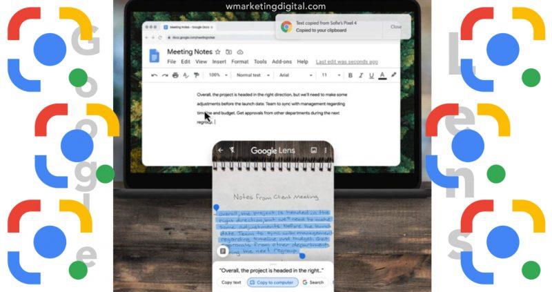 Copia tus notas escritas a mano a tu computadora con Google Lens