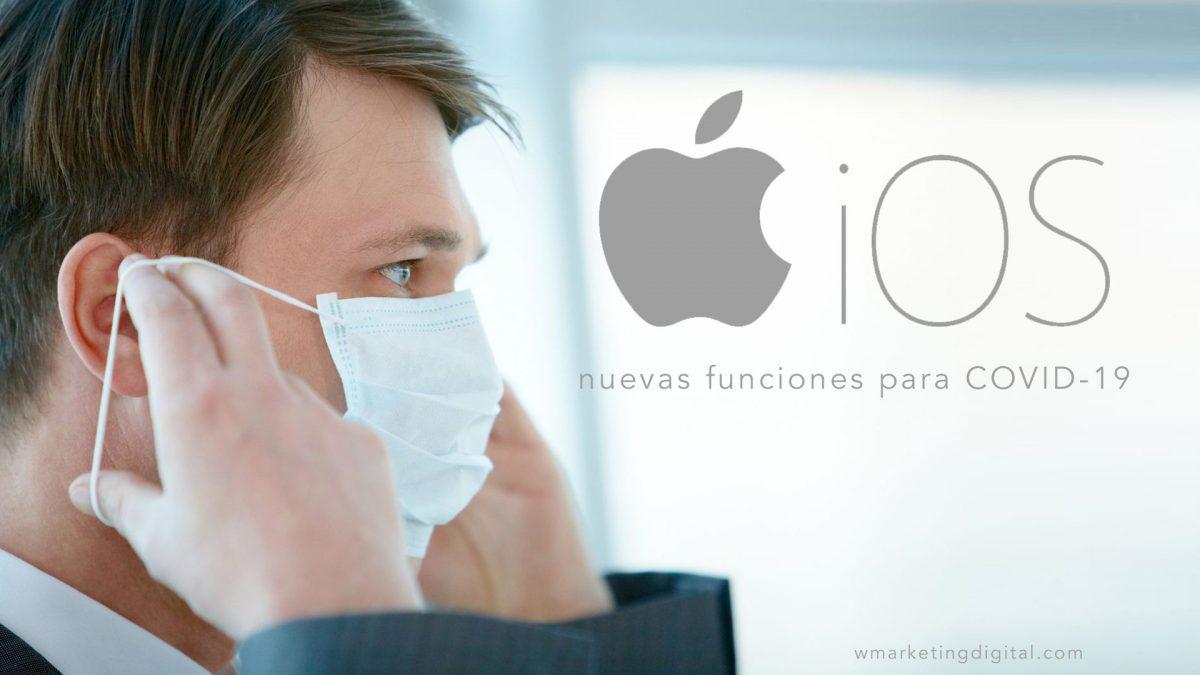 iOS 13.5 proporciona ya nuevas funciones para COVID-19